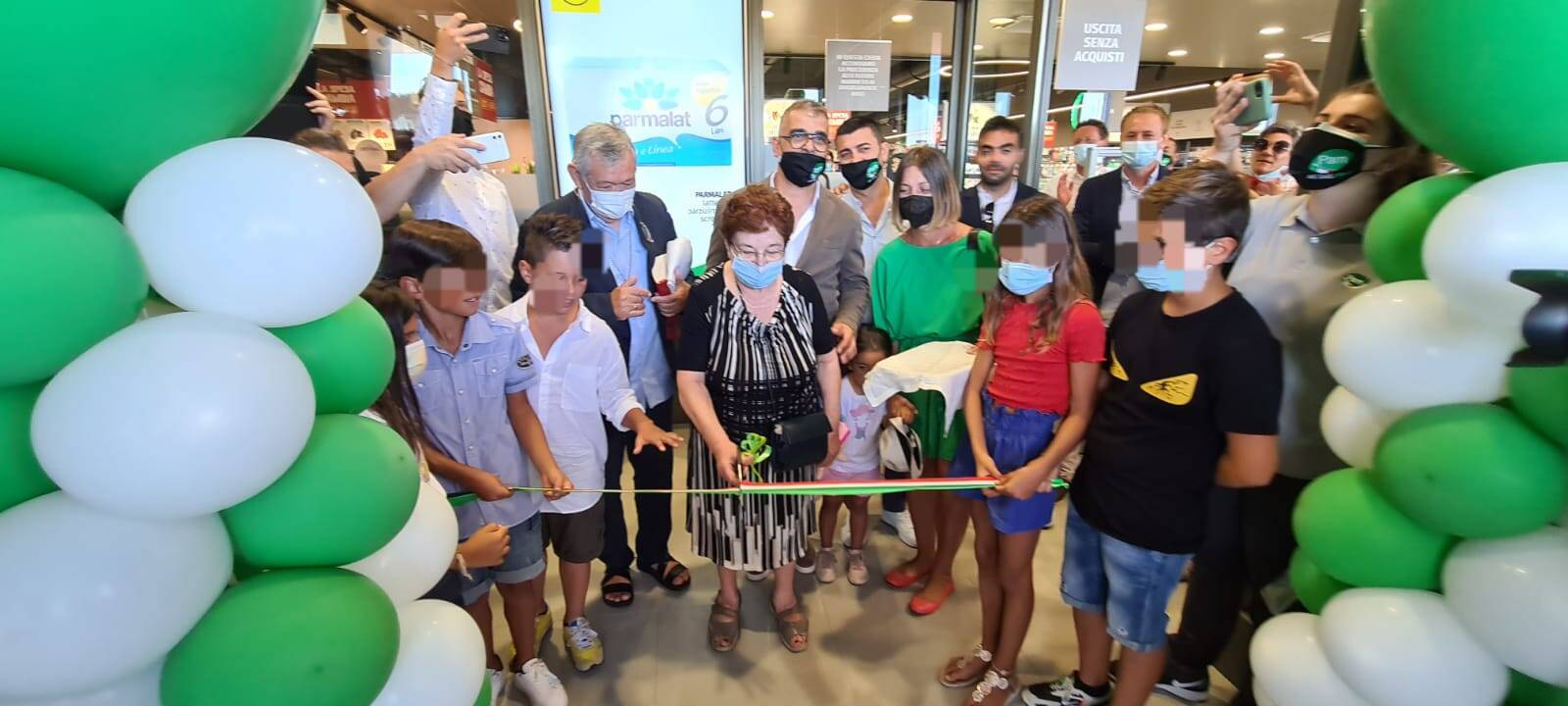 Inaugurazione supermercato Pam