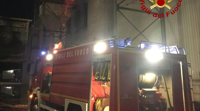 incendio vigili del fuoco termoli