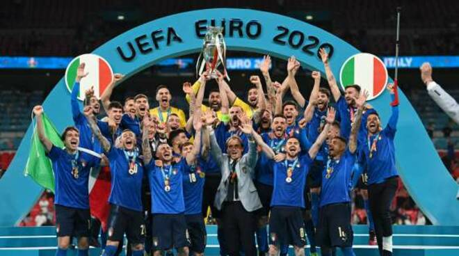 italia campione d'europa azzurri