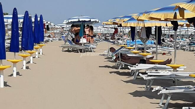 Spiagge Termoli ombrelloni