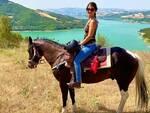 Trekking a cavallo sul lago di Occhito