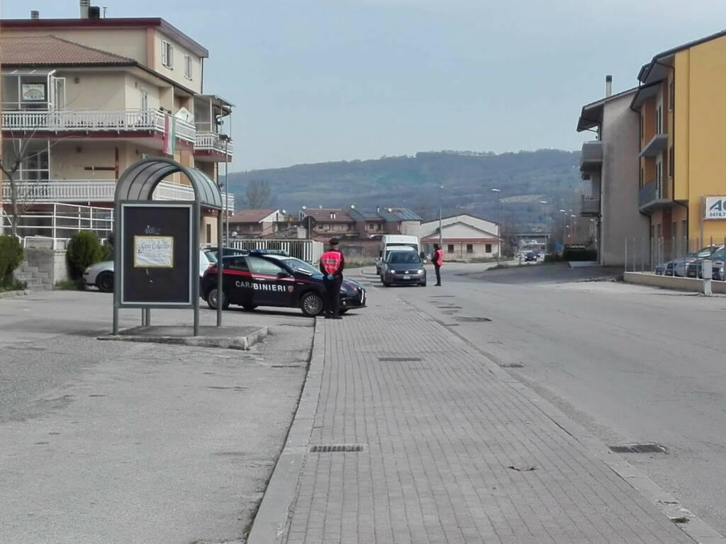 carabinieri bojano posto di blocco