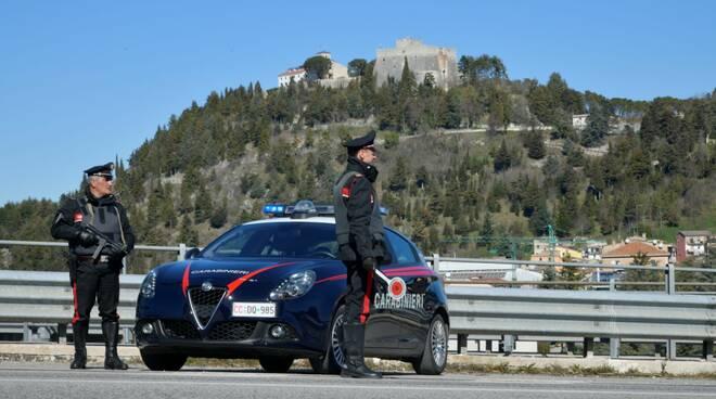 carabinieri posto controllo