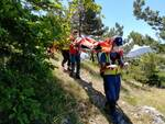 Don a ferita dirupo capracotta soccorso alpino barella