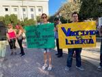 Manifestazione no green pass 7 agosto a Campobasso