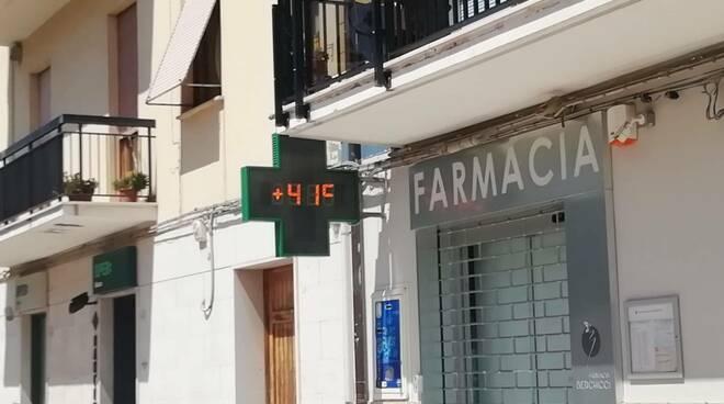 meteo caldo temperature 41 gradi termometro