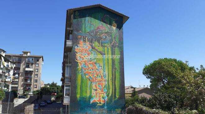 Murale via Marche Campobasso