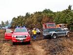 vigili del fuoco Monteverde incendio vinchiaturo mirabello