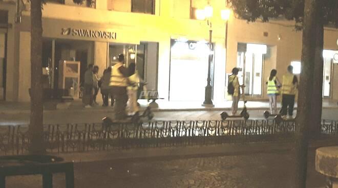 Monopattini corso Campobasso ragazzi
