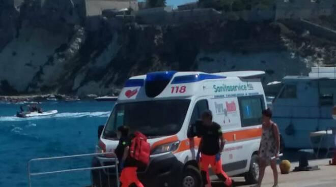 Tremiti ambulanza 118