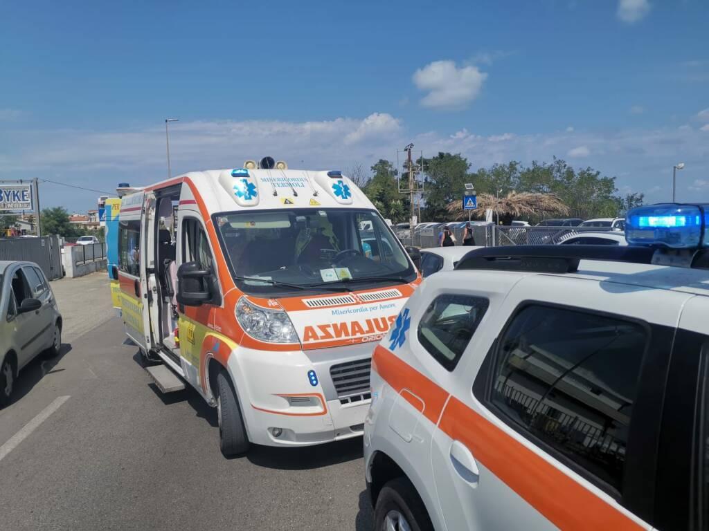 ambulanza misericordia termoli via corsica soccorsi