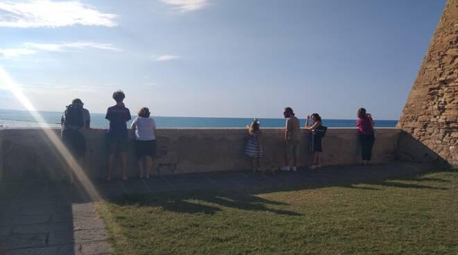 belvedere fotografi turisti gente