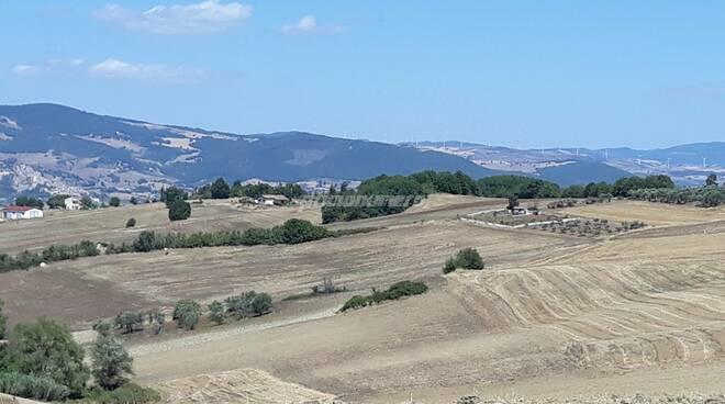Santo Stefano paesaggio campagna tratturo agricoltura