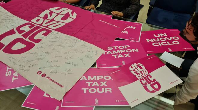 Tampon tax tour in Molise