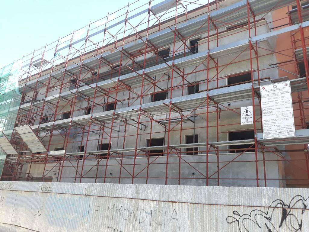 Campobasso via Marche lavori al distretto sanitario di base