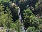 ponte tibetano roccamandolfi turismo molise natura