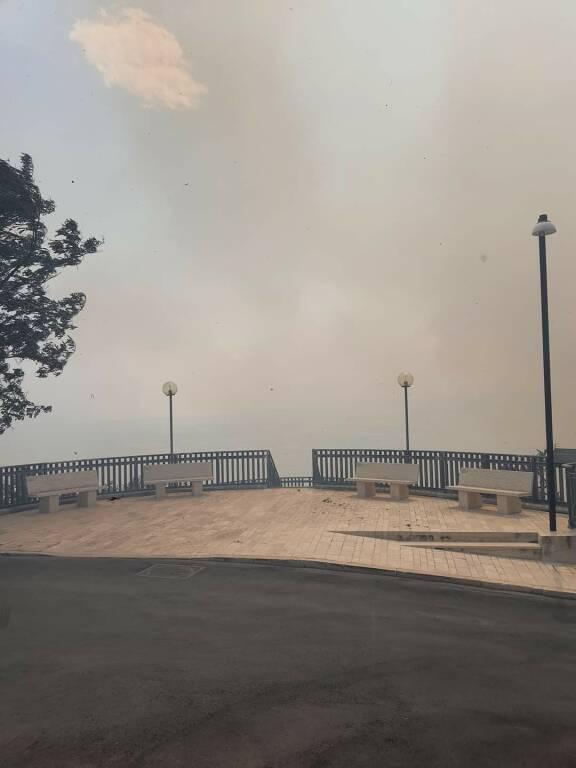 Guglionesi incendio estate 2021
