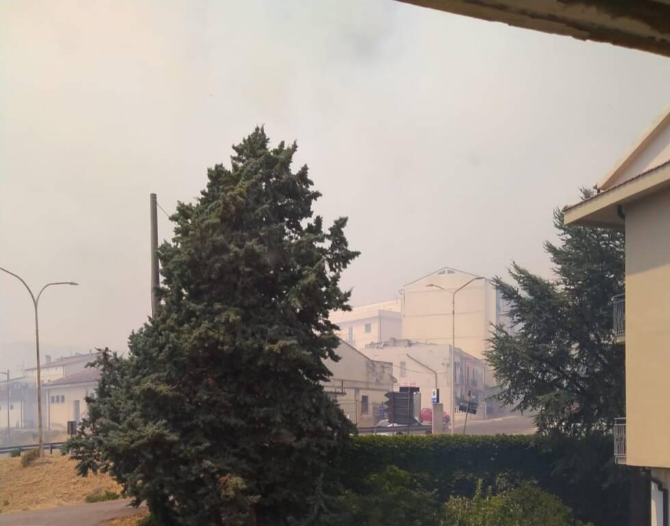 Incendio guglionesi estate 2021