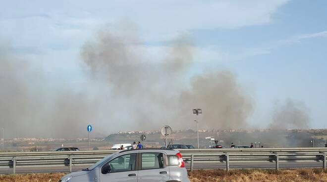 Incendio termoli sud estate 2021