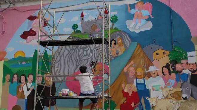 Murale Pietracatella