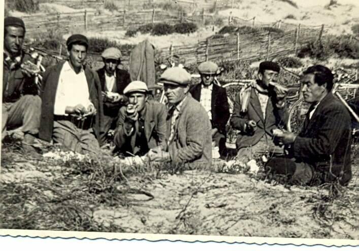 Pineta campomarino anni 50 foto giuseppe chimisso