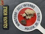 sequestro droga squadra mobile polizia