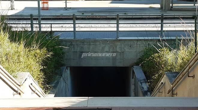 Sottopasso ferroviario petacciato marina