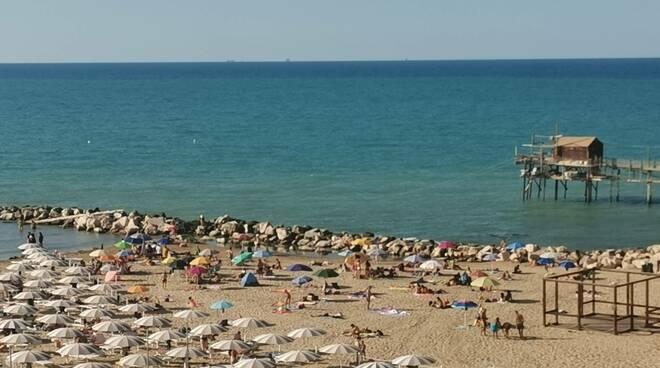 Spiaggia dal belvedere dei fotografi