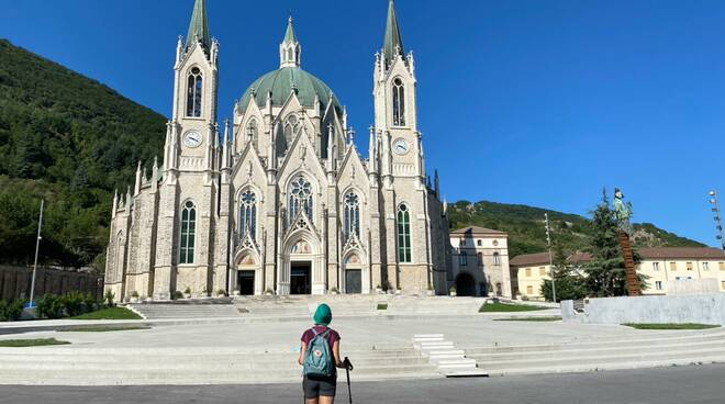 Castelpetroso basilica Turismo montano escursionisti passeggiate