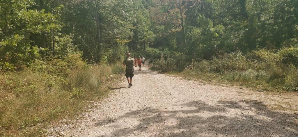 Turismo montano escursionisti passeggiate