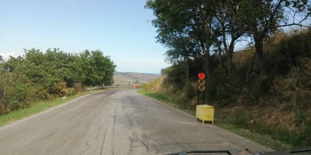 Asfalto provinciale 483 Guglionesi