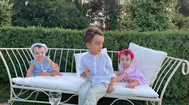 Auguri  a Francesco, Giulia e Ginevra