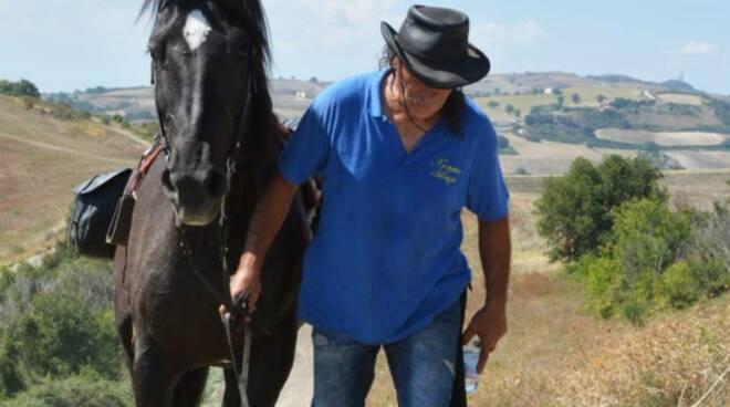 pellegrinaggio cavallo