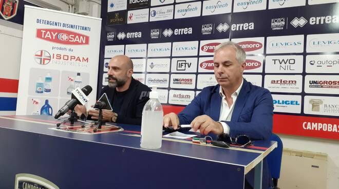 Luca Praitano e Raffaele De Francesco stadio Selvapiana