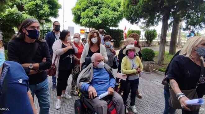 non autosufficienti disabili foto facebook emilio izzo