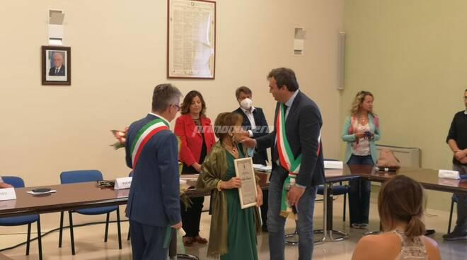 Cittadinanza onoraria Larino prof Adele Terzano