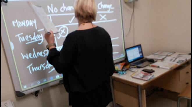 morgan school docente inglese