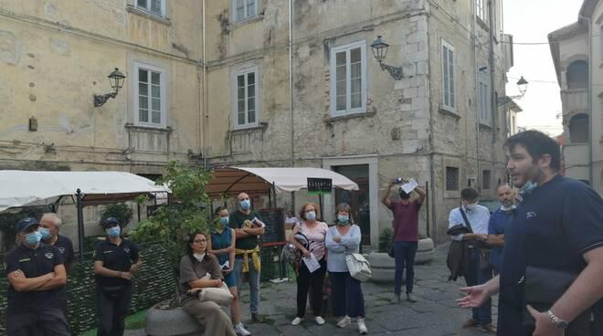turisti a Campobasso piazza san Leonardo