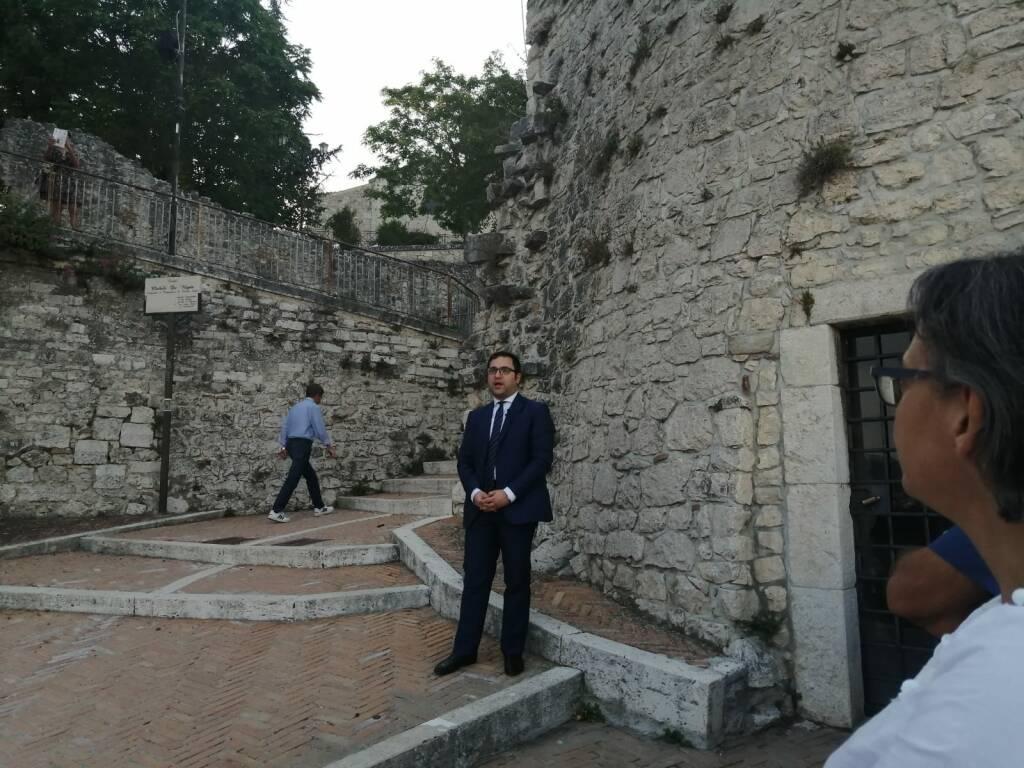 turisti a Campobasso torre terzano