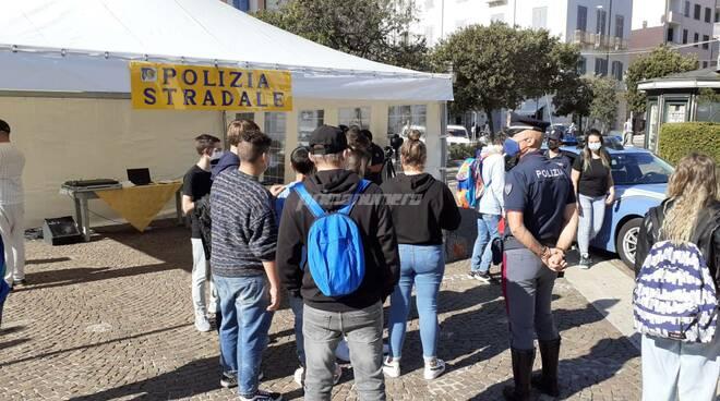 Safety day con la Polizia stradale di Campobasso