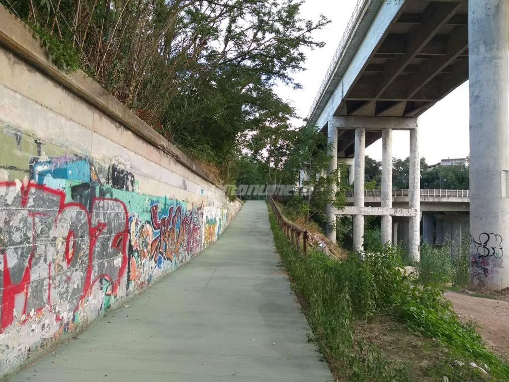 ciclopedonale parco termoli ponte via corsica