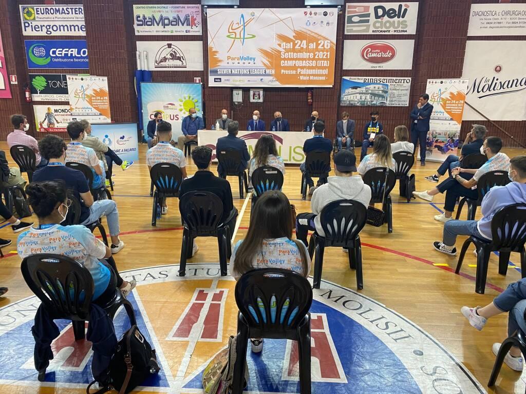 conferenza sitting volley
