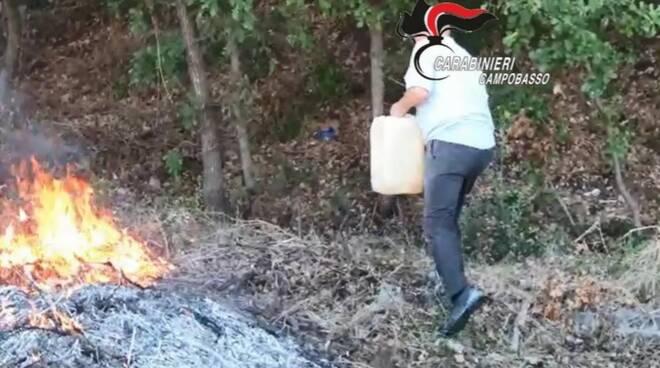incendio carabinieri cb