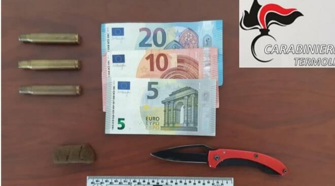 carabinieri munizioni coltello