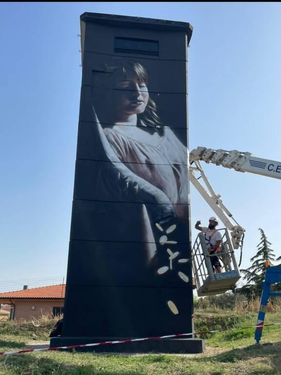 cabina elettrica murale petacciato