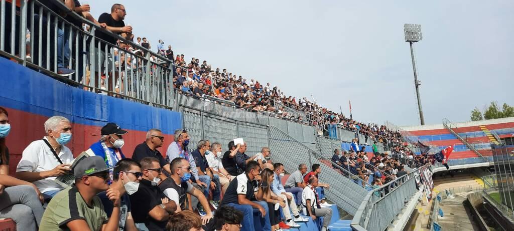 Curva stadio Campobasso Andria