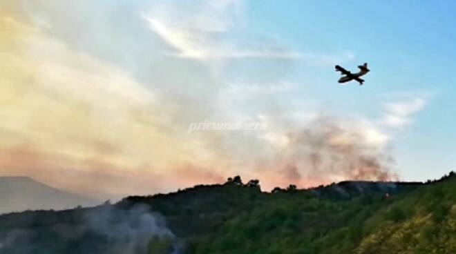 Incendio montorio Casacalenda