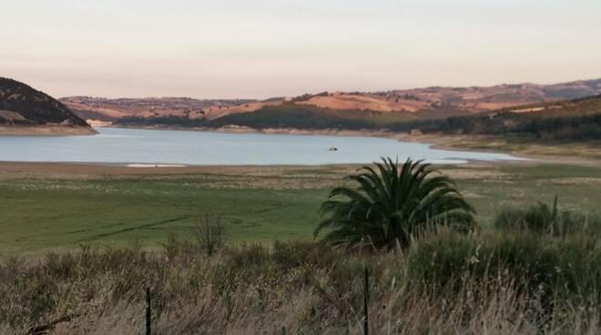 Lago Guardialfiera siccità degrado
