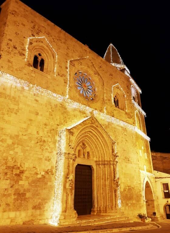 notte in cattedrale larino