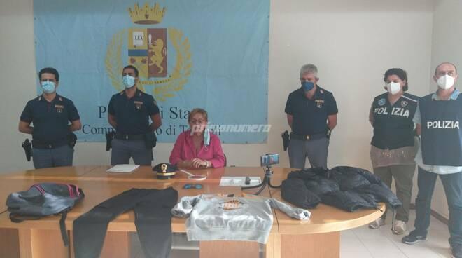 Polizia rapina farmacia conferenza
